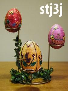 Stojaki do jajek wielkanocnych - stj3j