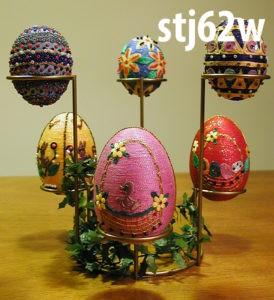Stojaki do jajek wielkanocnych - stj62w